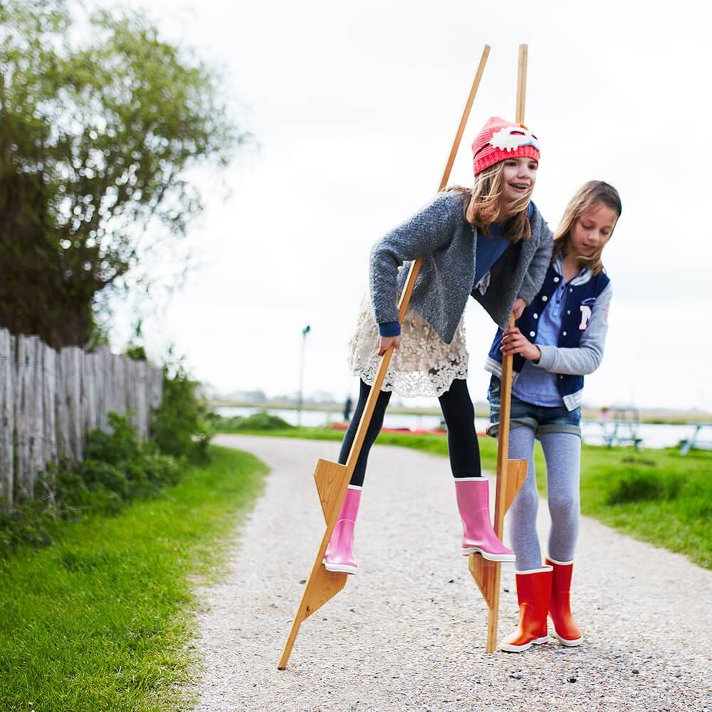 Bergstein Gumboots Pink lifestyle 5