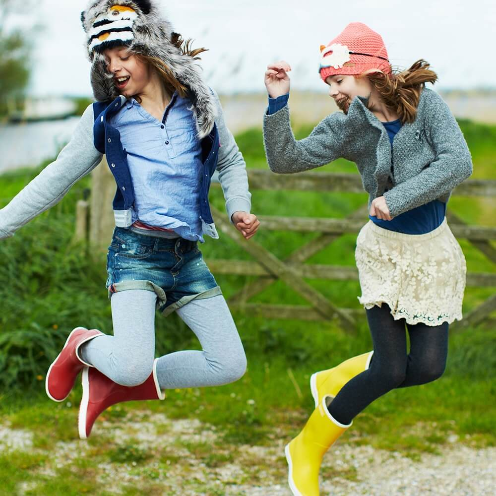 Bergstein Gumboots Red lifestyle 2