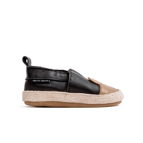 Pretty Brave Espadrille – Black Bear side