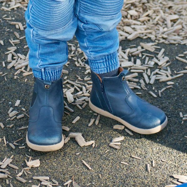 Bobux Jodphur Kid+ Boots – Navy Durable