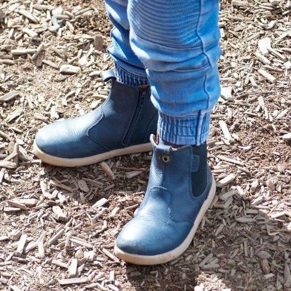 Bobux Jodphur Kid+ Boots – Navy Kids Fashion
