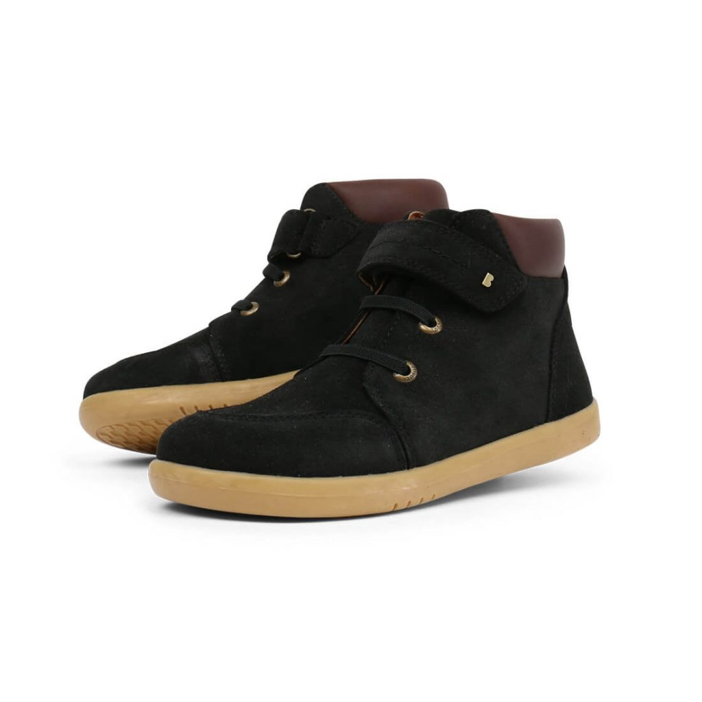 Bobux Timber Kid+ Boots – Black angle