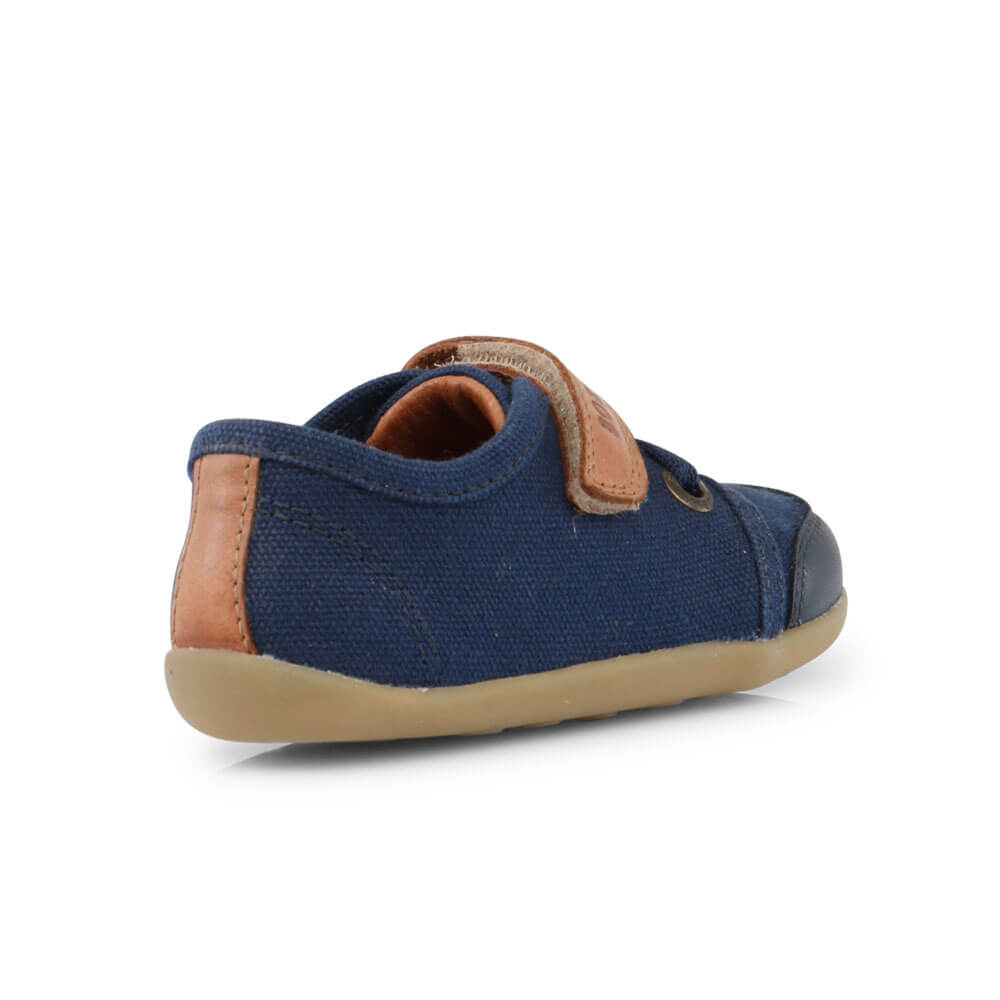 Bobux Leisure Trainer - Navy back right