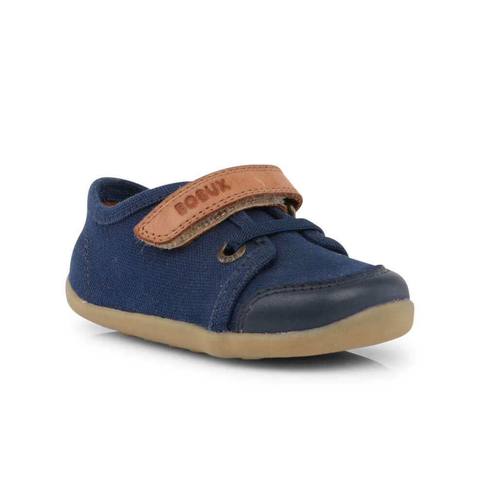 Bobux Leisure Trainer - Navy front left