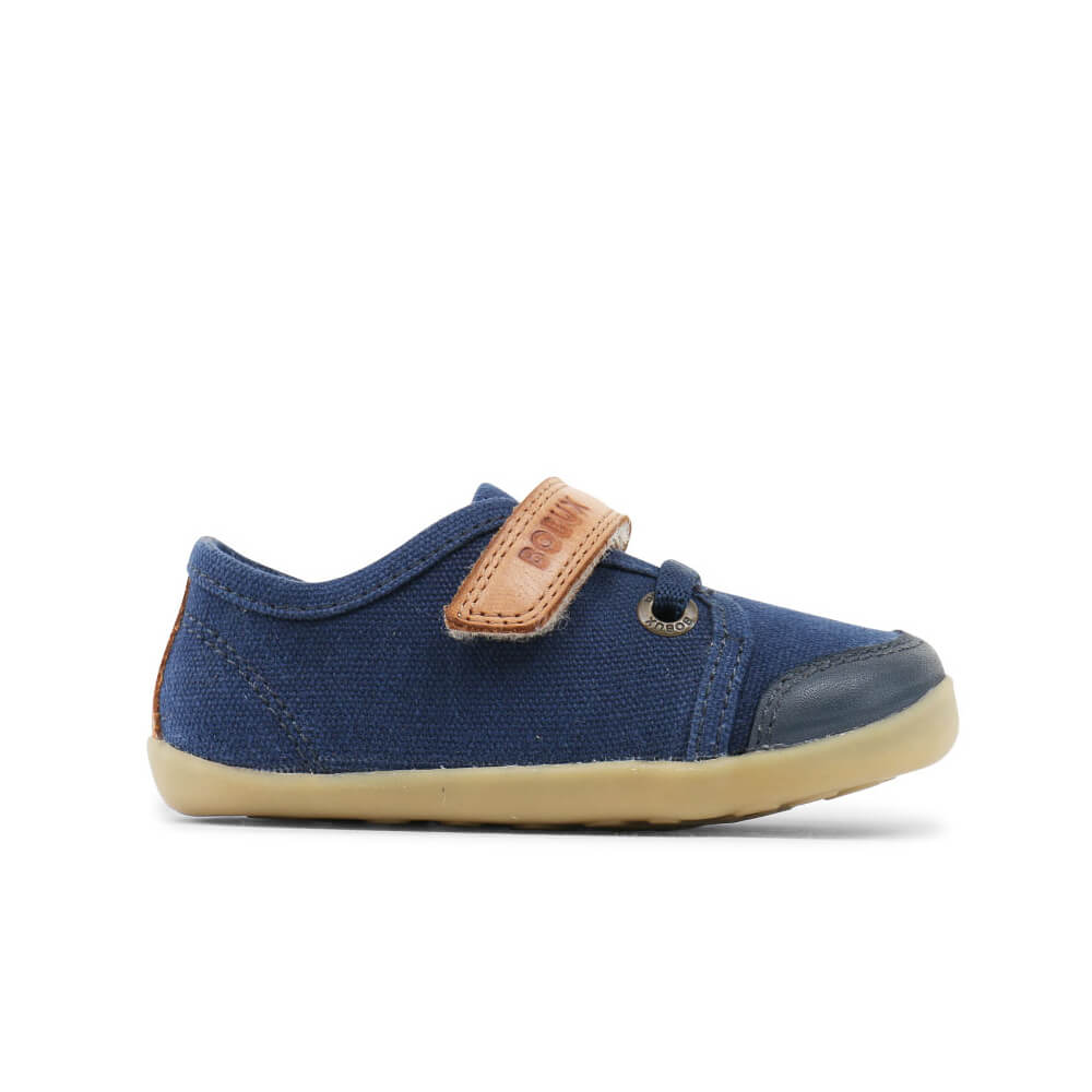 Bobux Leisure Trainer - Navy side