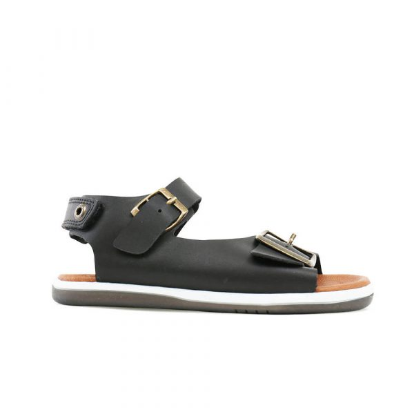 Bobux Soul Sandal - Black side