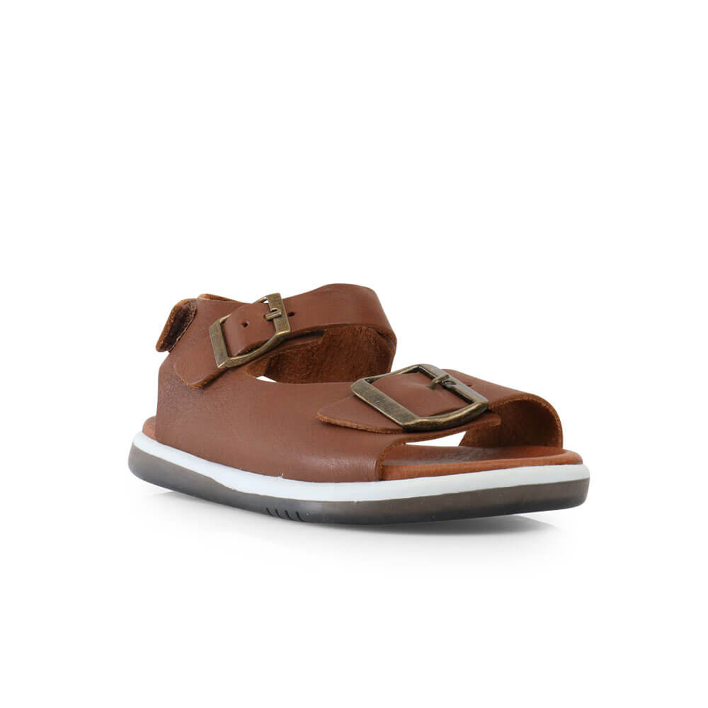 Bobux Soul Sandal - Toffee front right