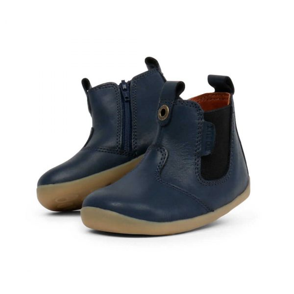 Bobux Jodphur Step Up Boots – Navy angle