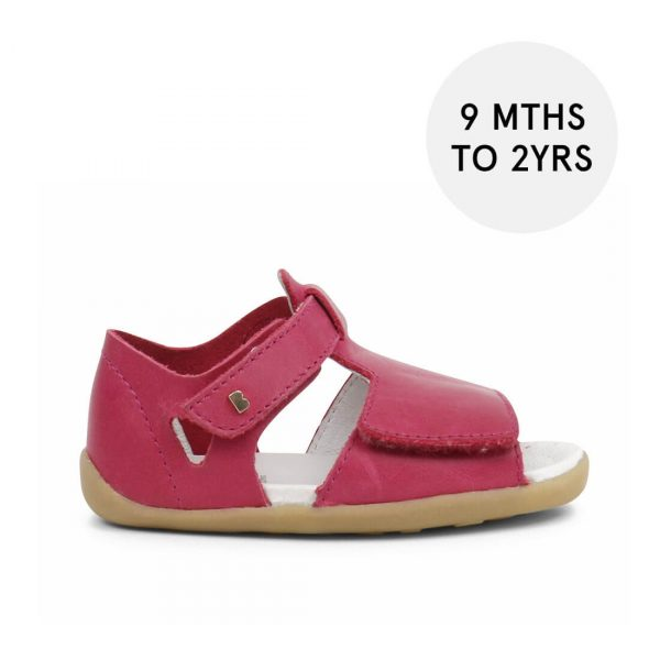 Bobux Step-Up Mirror Sandal - Dark Pink