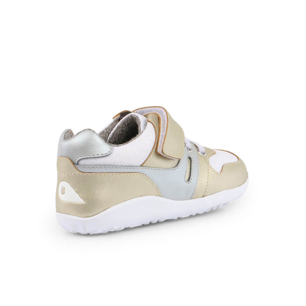 Bobux Tune Lo Top Sneaker - Gold inside right