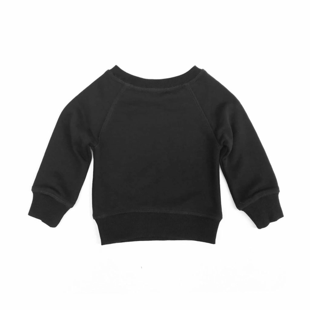 Casa Kids Black Baby Jumper Back