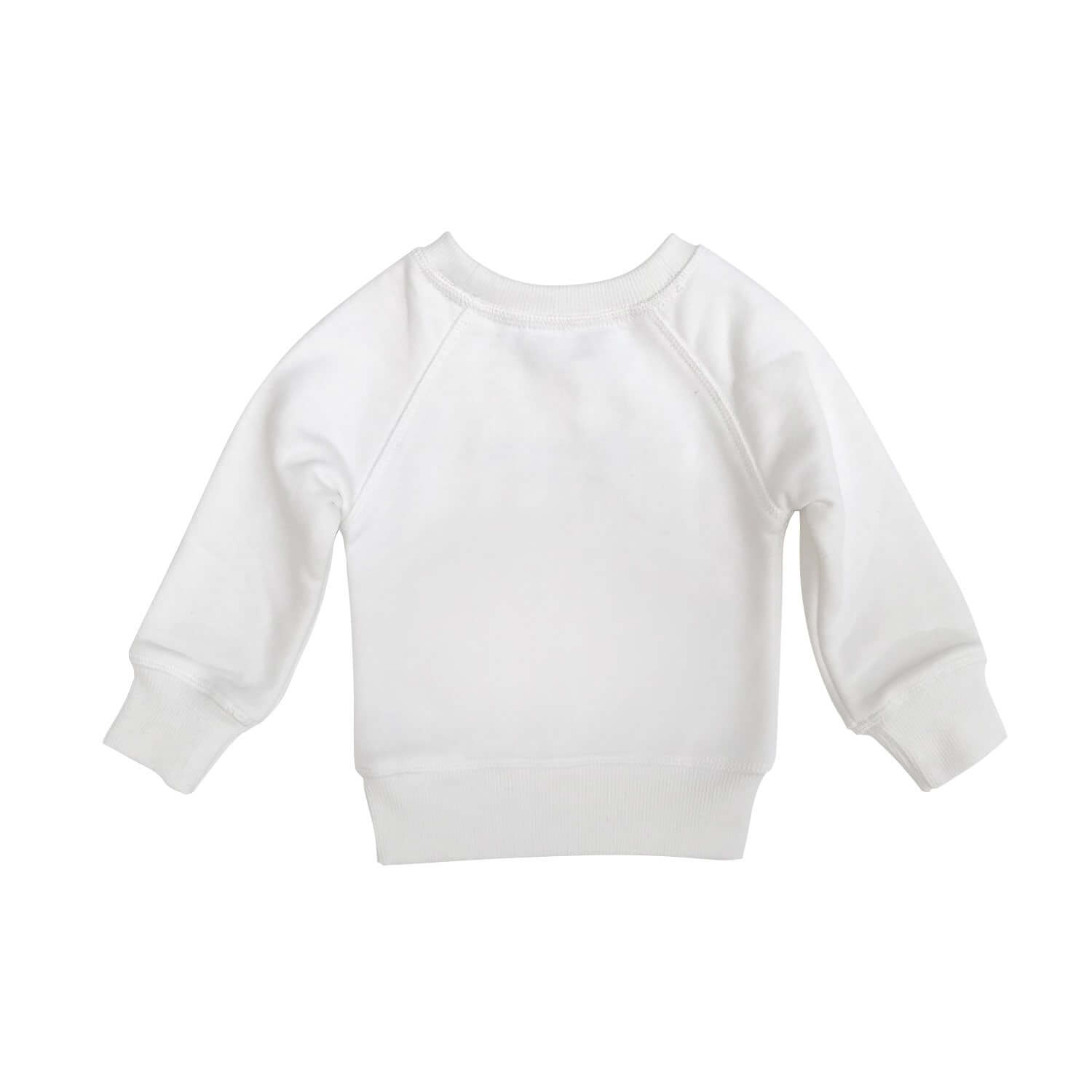 Casa Kids White Baby Jumper Back