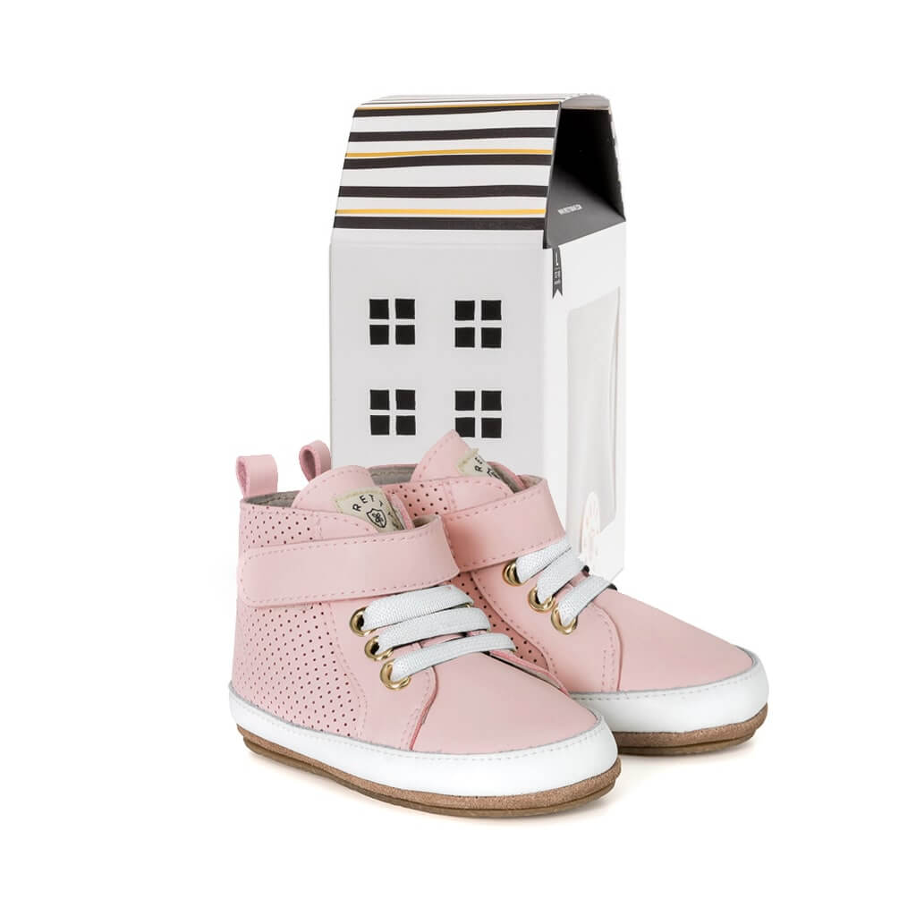 Pretty Brave Baby Shoes Hi Top Boot Cherub House
