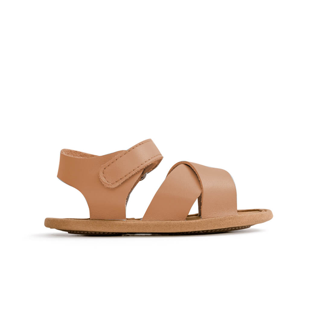 Pretty Brave Valencia Sandal – Chestnut side