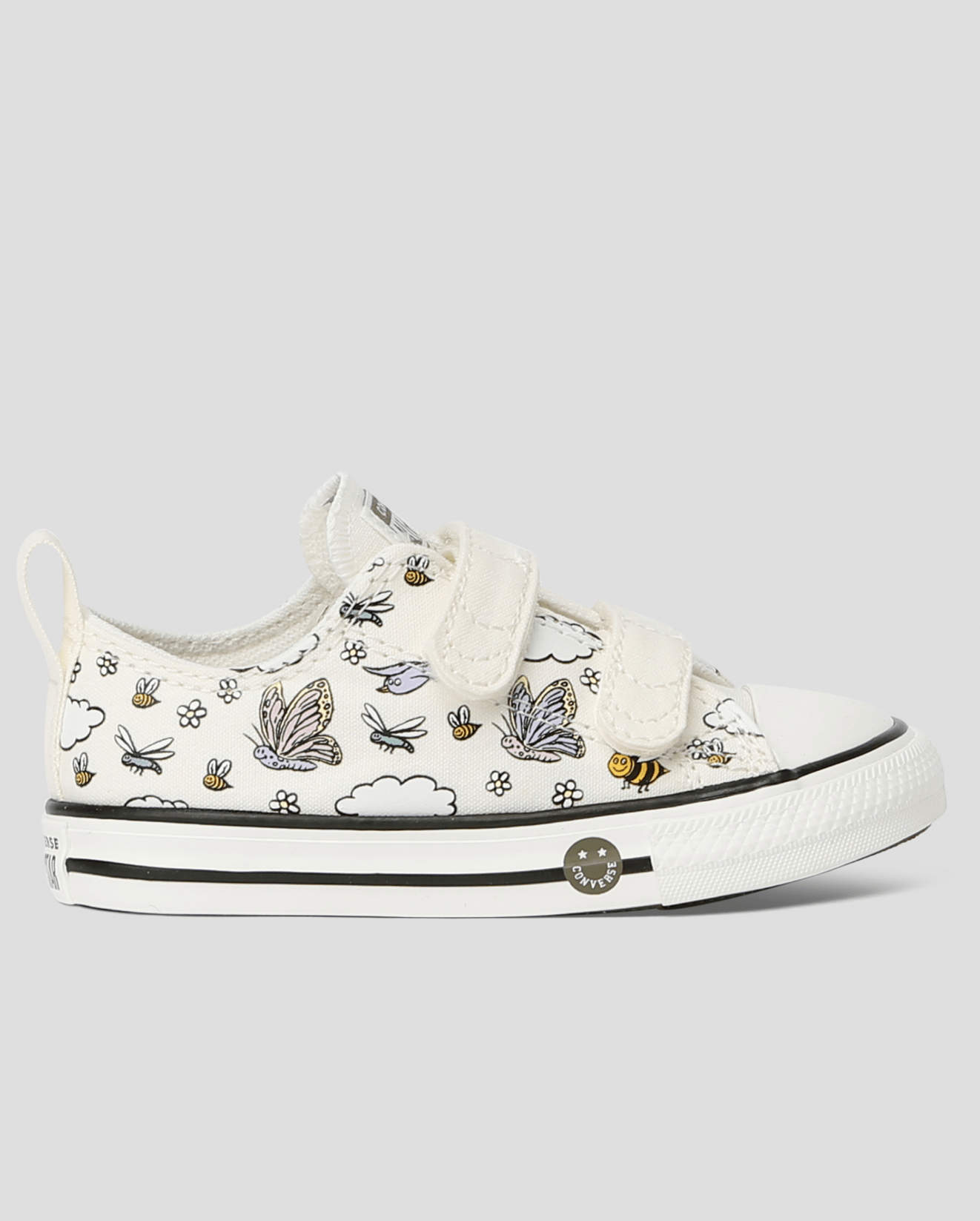 Chuck Taylor All Star 2V Camp Converse Toddler Low Top Vintage White