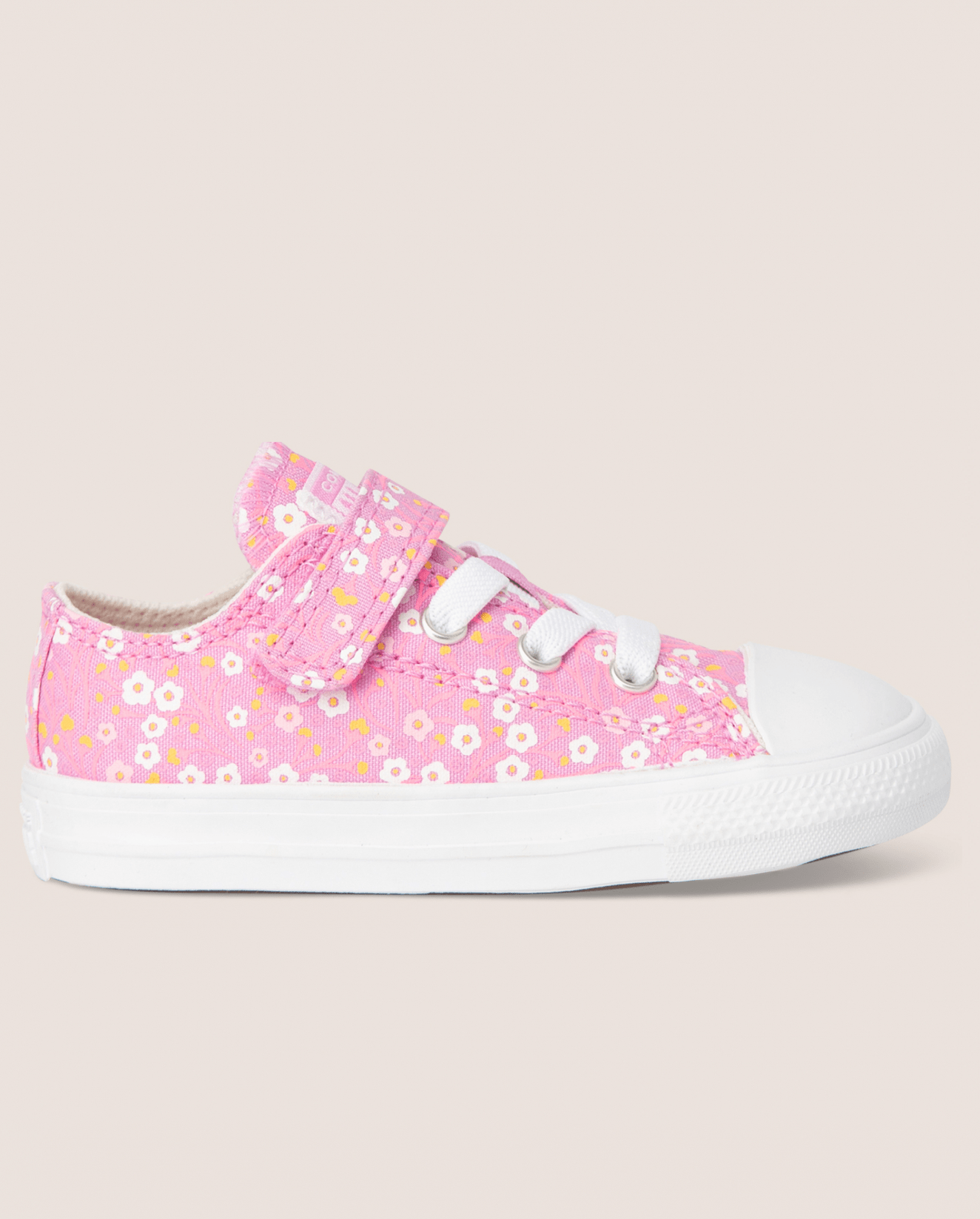 Chuck Taylor All Star Floral 1V Low Top Peony Pink