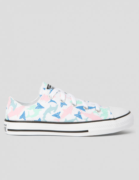 Chuck Taylor All Star Shark Bite Junior Low Top White
