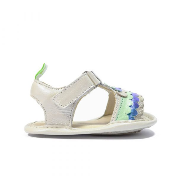 Corally Sandal - Barely Blue/Kelp Pearl side