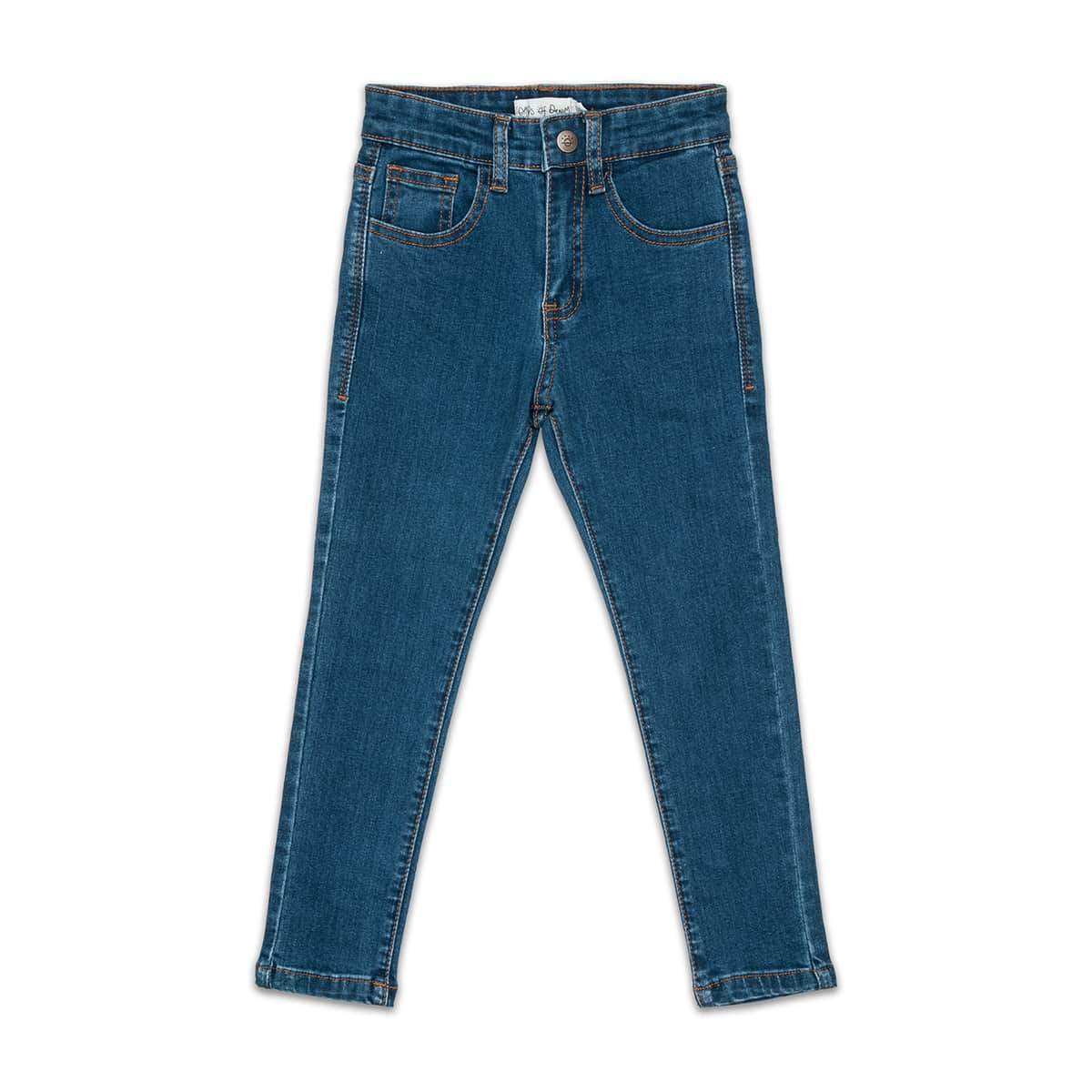 Days of Denim - Kids Skinny Jeans - Navy Wash - Front