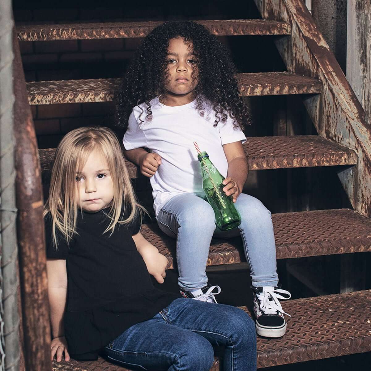 Days of Denim - Kids Skinny Jeans - Light Wash - Lifestyle 6