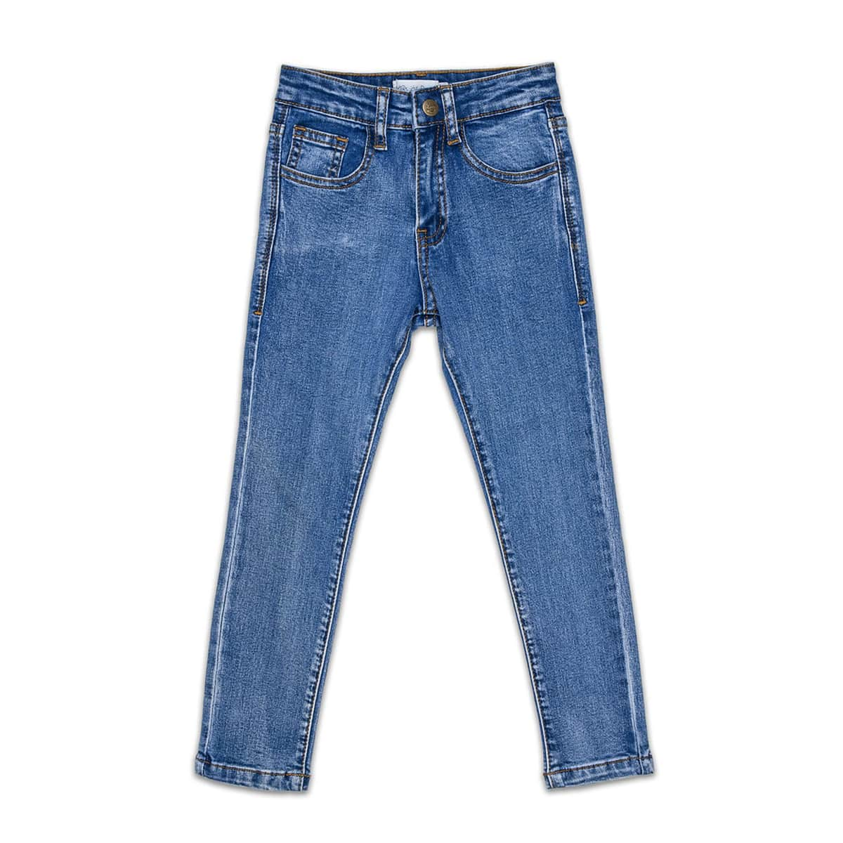 Days of Denim - Kids Skinny Jeans - Classic / Denim Wash - Front