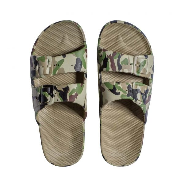 Freedom Moses Sandals Army K Top