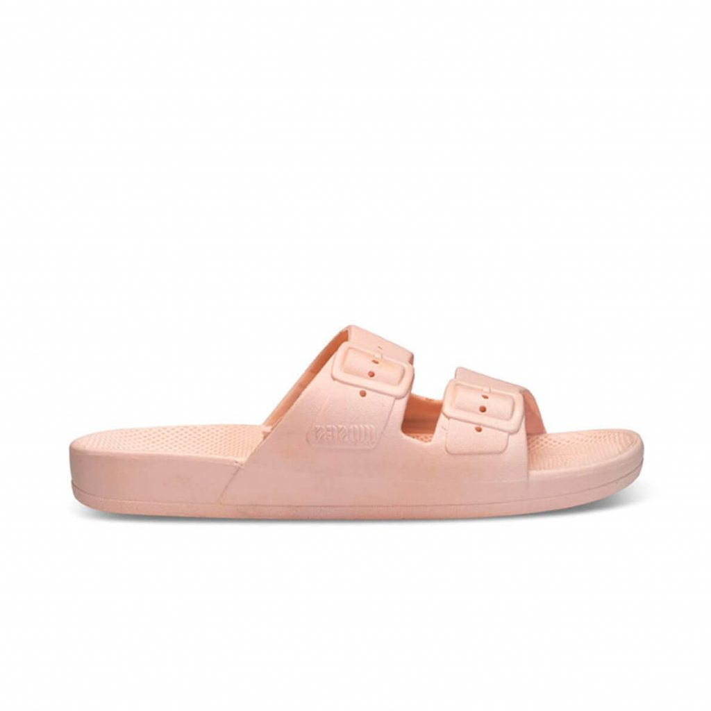 Freedom Moses Sandals Baby Pink Side