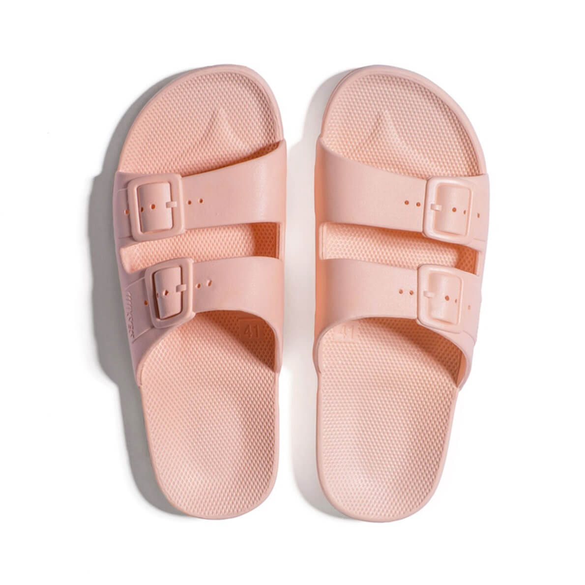 Freedom Moses Sandals Baby Pink Top
