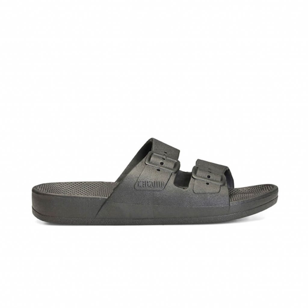 Freedom Moses Sandals Black Side