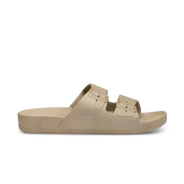 Freedom Moses Sandals Khaki Side