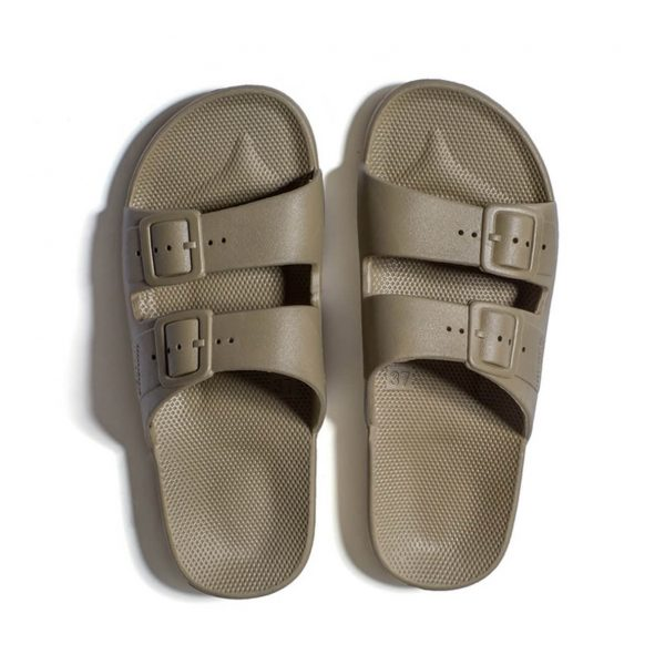 Freedom Moses Sandals Khaki Top