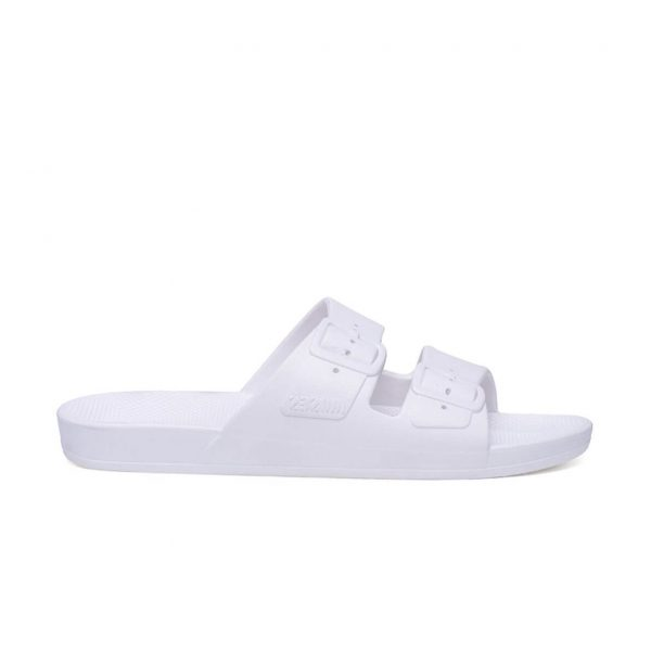 Freedom Moses Sandals White Side