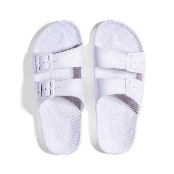 Freedom Moses Sandals White Top