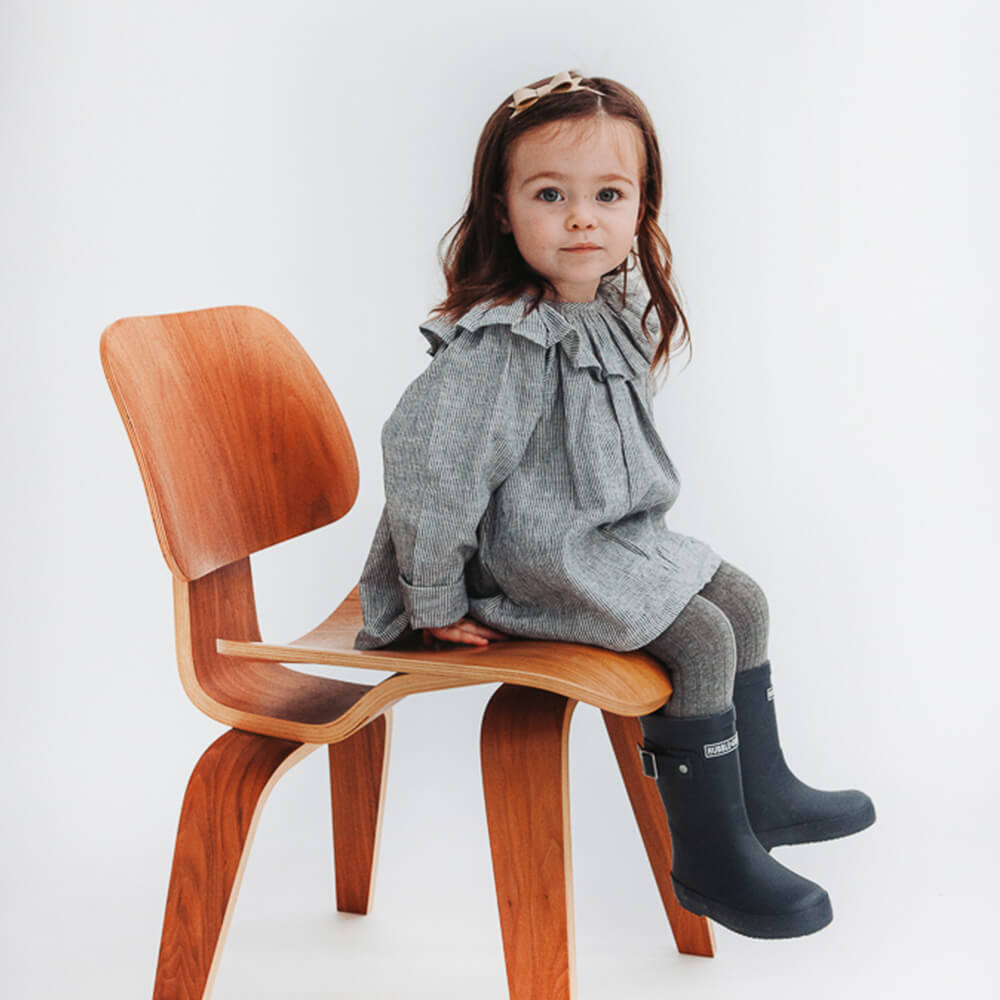 Hubble & Duke Gumboots Navy girls gumboots