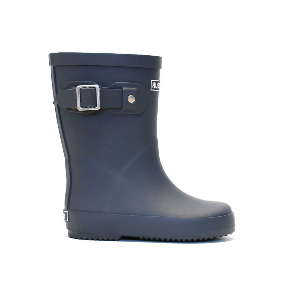 Hubble & Duke Gumboots Navy side
