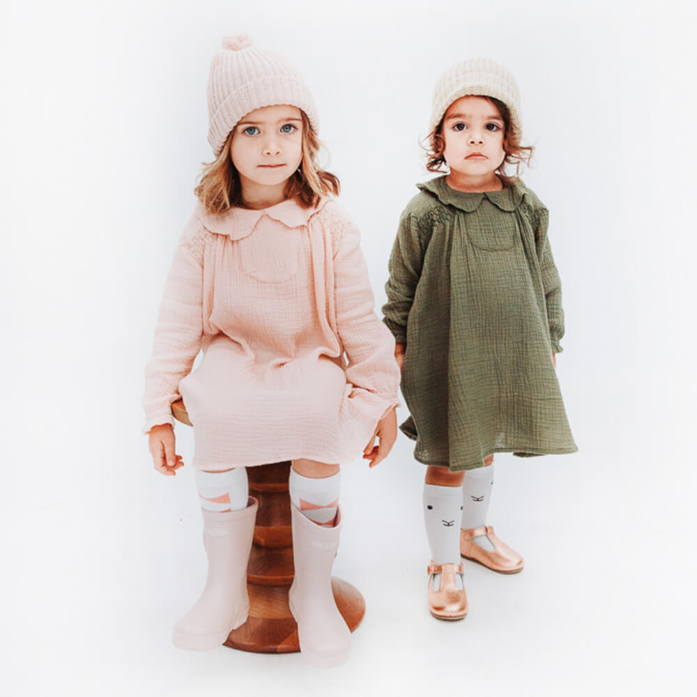 Hubble & Duke Gumboots Powder Pink children gumboots