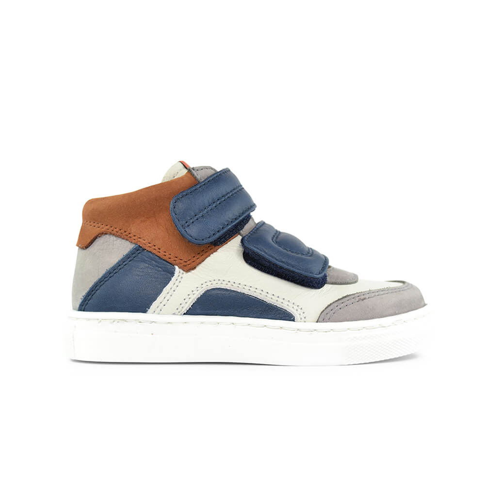 Bauta White/Navy Sneaker side