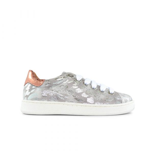 Jiguani Grey Leopard Sneaker side