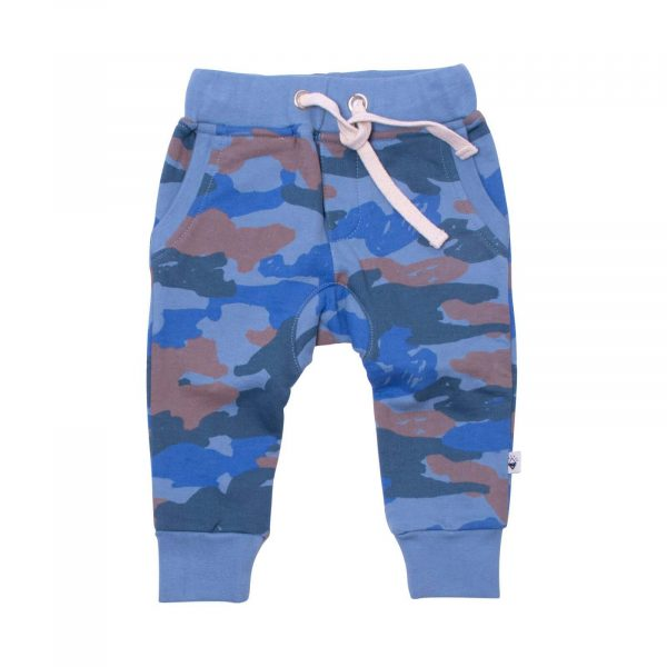 Milk and Masuki Baby Trackies Camo