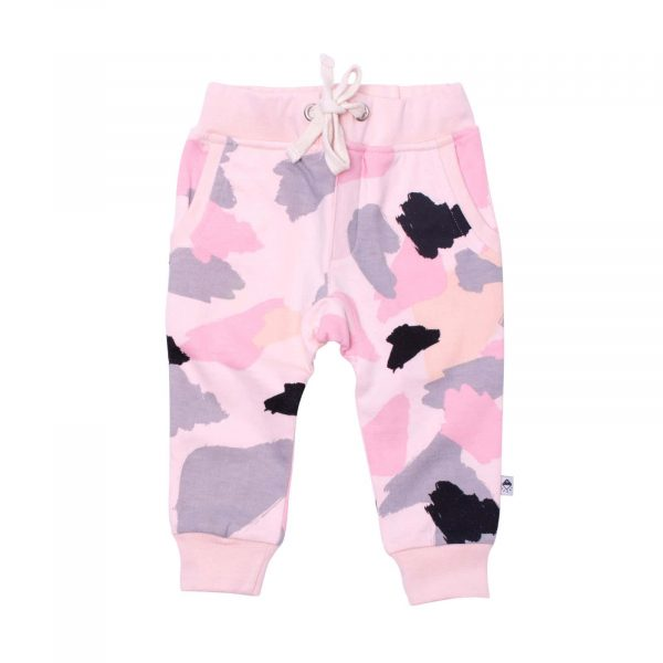 Milk and Masuki Baby Trackies Colourdrift