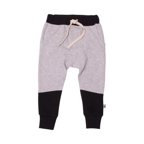 Milk and Masuki Boys Trackies Black Grey