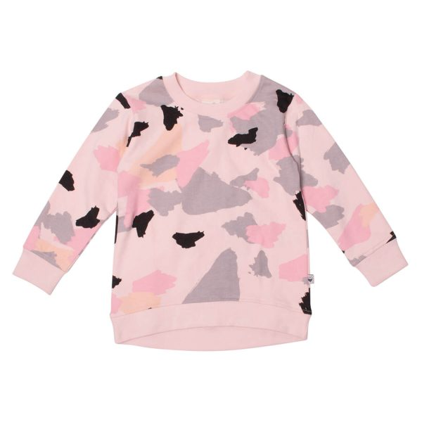 Milk and Masuki Girls Crew Neck Jumper Colourdrift