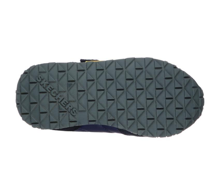 Sketchers Navy gold