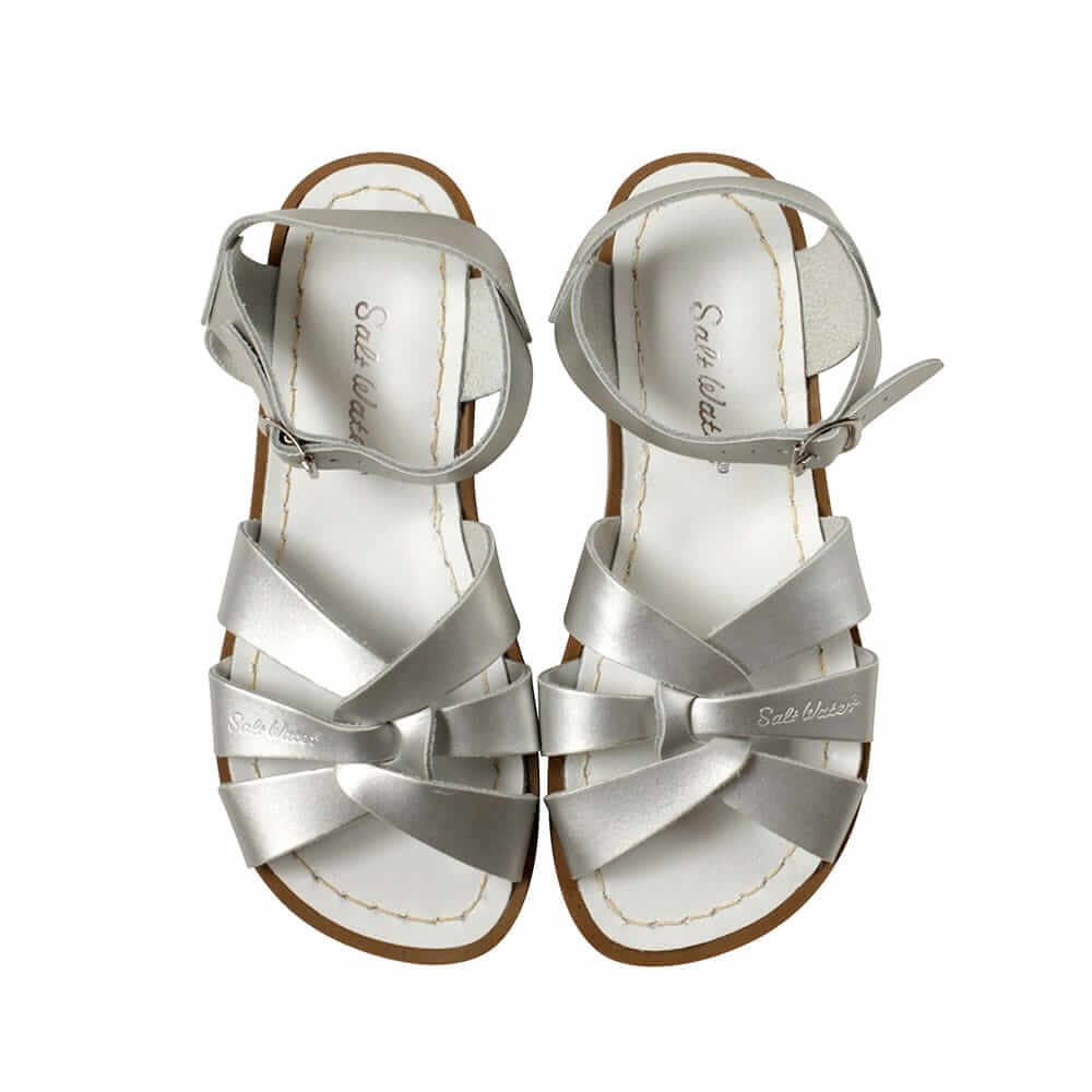 Original Saltwater Sandals – Silver Top
