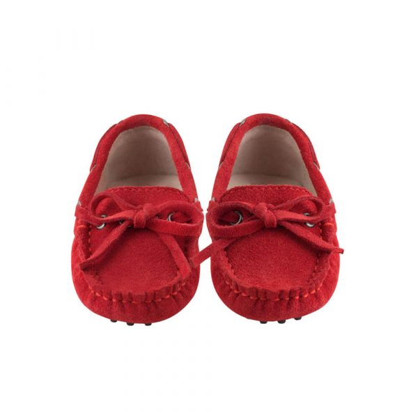 Oscars Capri Red Loafers side