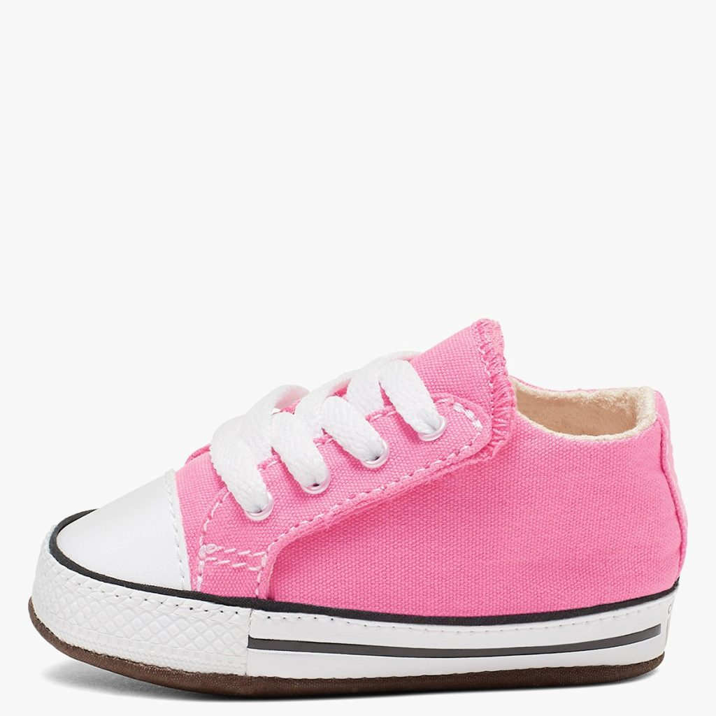 pink all star sneaker