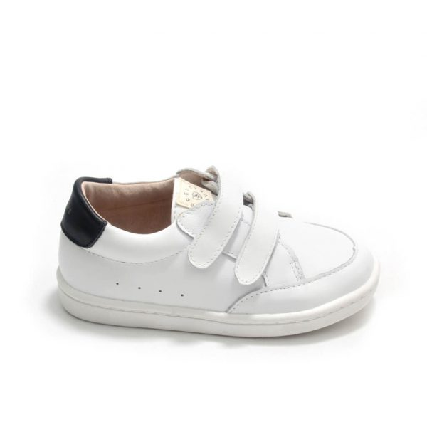 Pretty Brave White Sneakers – XO Trainer side