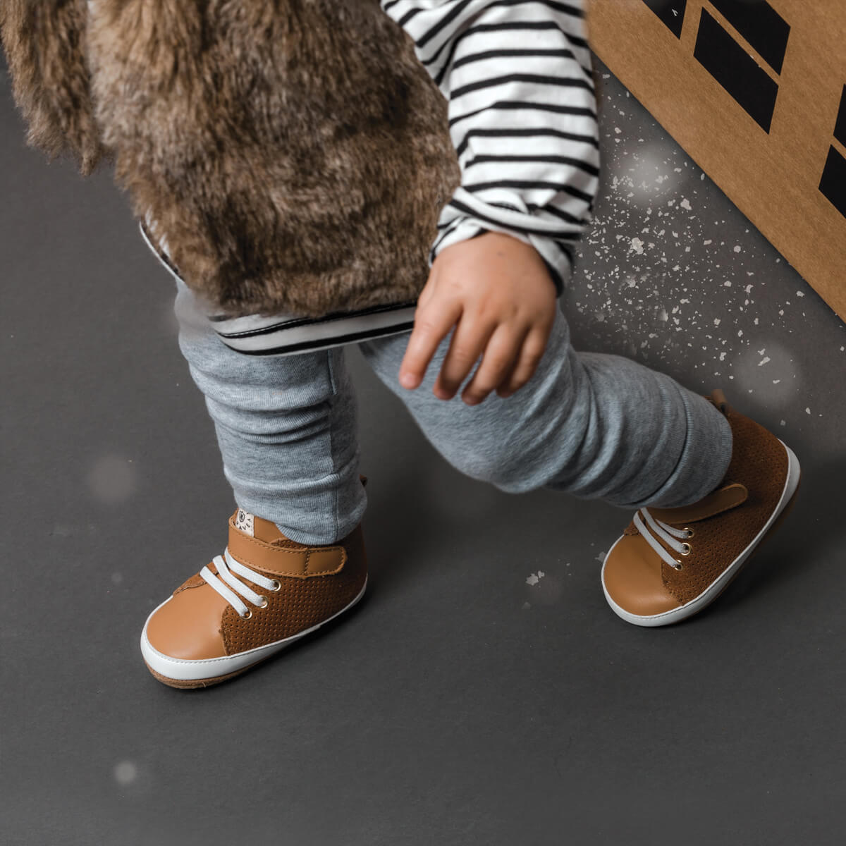 Pretty Brave Hi-Top Boot – Cinnamon lifestyle 1