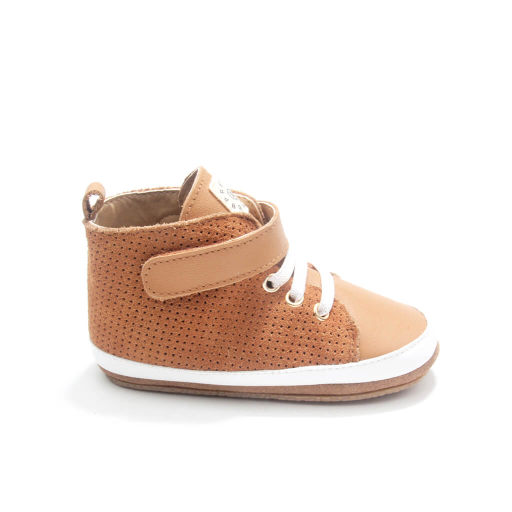 Pretty Brave Hi-Top Boot – Cinnamon side