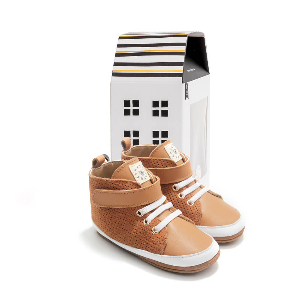 Pretty Brave Hi-Top Boot – Cinnamon pair gift
